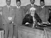 CMSF scholars with the Rector of Al-Azhar University, Egypt in 1947