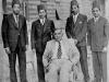 CMSF scholars of Al-Azhar University with Prime Minister Hon. D.S.     Senanayake in 1947