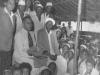 Azeez Visiting a Muslim School in Mombasa, Kenya 1954