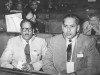 V.A. Kandiah, M.P. for Kayts and Azeez at Inter-Parliamentary Conference held in Warsaw, Poland in 1959
