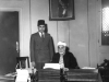 Azeez with Rector of Al-Azhar university, Sheikh Mustapha Abdel Razak in Cairo, Egypt in 1947