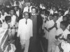 Hon. Badiudin Mahmud at a Special Assembly at Zahira College in 1960