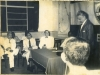 Dr. Mahmood Hassan presiding at the All-Ceylon YMMA Conference Seminar on Language of the Ceylonese Muslims at Zahira College 1959