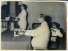 Azeez presiding at Bharathiar Day with Pundit K. Lakshmana lyer (speaking) and Prof. K. Kanapathipillai held at Zahira College