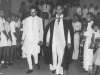 Dr. K.G. Saiyahain, Advisor on Education to the Govt. of India at a special assembly at Zahira in 1952