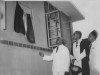 Sir Nicholas Attygalle, President of the Senate, opening the Iqbal building at Zahira College in 1954