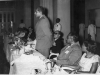 Azeez speaking at the dinner given by All Ceylon Union of Teachers to Ronald Gouldate of Afro-Asian Teachers' Conferance at the GOH in 1958