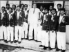 Soccar Team of 1958 on their return after Jaffna Tour.