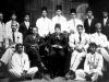 At Zahira Hostel, 16, Forbes Road, Colombo 10 in 1929. Azeez as resident tutor is standing 5th from left