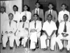 Past Cricket Captains of Zahira at opening of Indoor School of Cricket in 1953