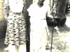 Marina and Ummachchi (Azeez's maternal aunt) at Mohideen Mosque Lane, Jaffna in 1960