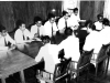 YMMA deputation meeting Hon. A.P. Jayasuriya, Minister of Home Affairs on Wakfs Bill in 1956