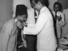 Azeez Chaining the New President S.H.A Wadood in 1958